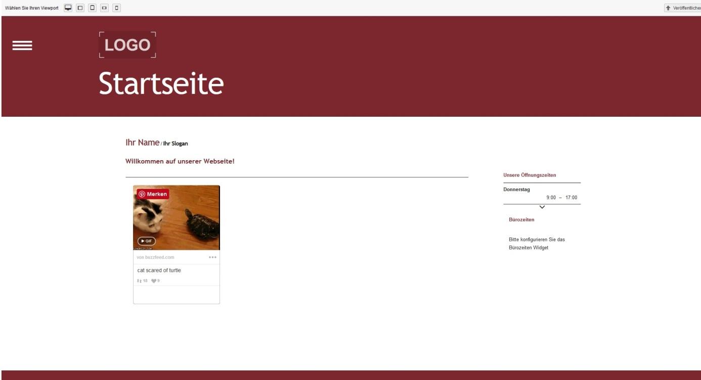 Fantastisch Website Vorlagencode Zeitgenössisch - Beispiel Business ...