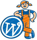 WordPress-Website mit Kontaktformular