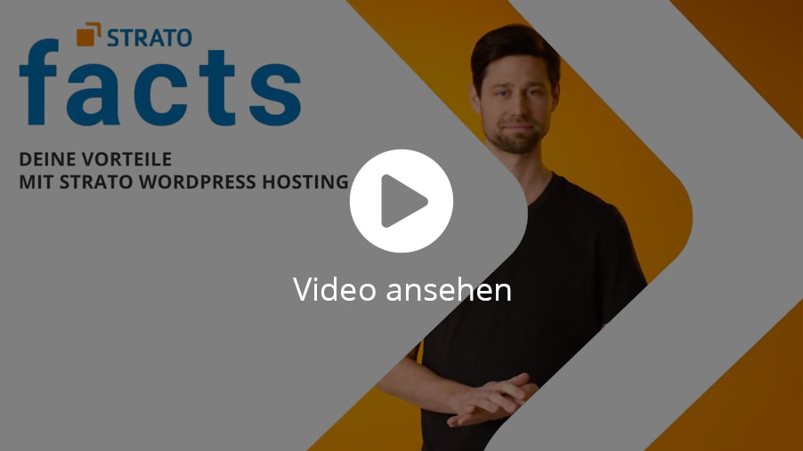 STRATO WordPress Hosting Video