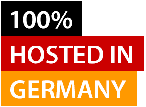 100% Hosted in Germany