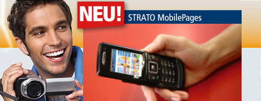 2007 - STRATO launcht die MobilePages