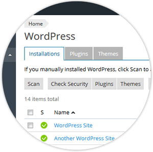 Plesk - WordPress Toolkit