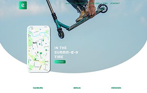 Creative Project – www.strato-demo-e-mobility.de