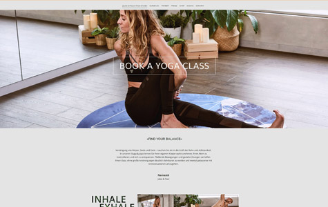 Creative Project – www.strato-demo-yoga.de
