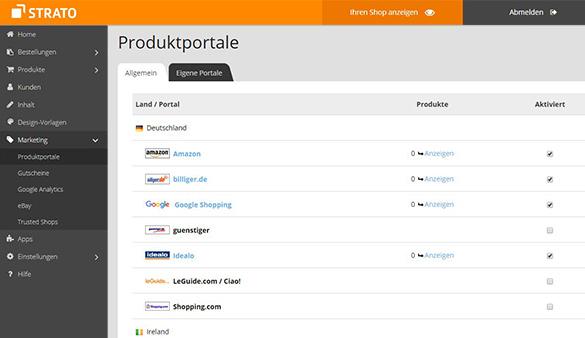 Webshop Erfolgreich Online Verkaufen Strato