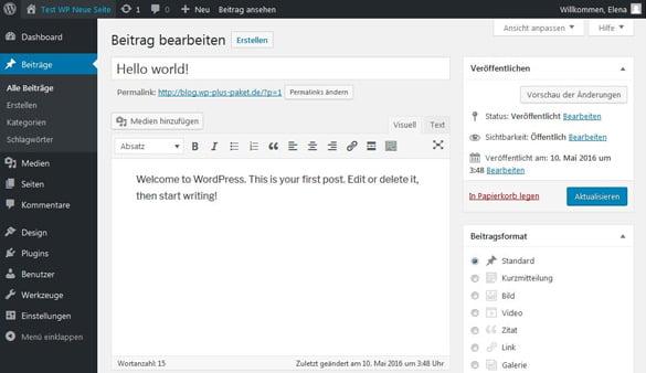Wordpress Hosting Von Strato Schnell Sicher Günstig