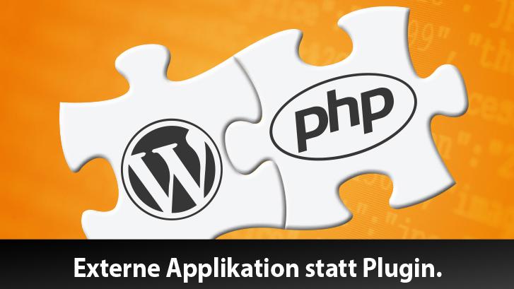 WordPress-Look für statische Seiten und externe PHP-Apps
