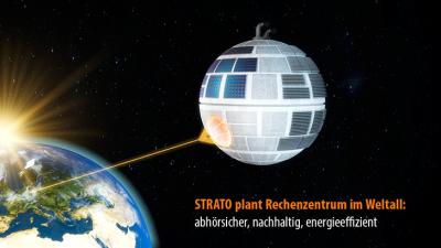 STRATO plant erstes Rechenzentrum im Weltall