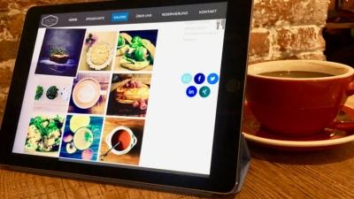 """""""Das sieht aber lecker aus"""": So erstellst Du Deine Website fürs Café selbst"""