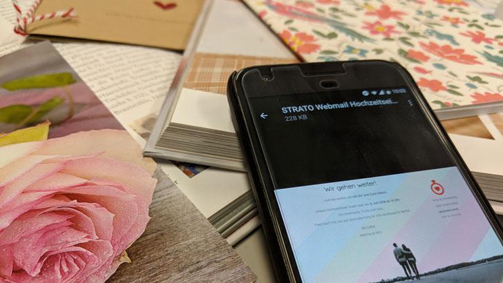 Perfekt und einfach organisiert: Plane Deine Hochzeit mit Webmail