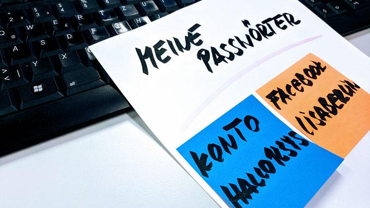 """Gegen """"Hallo12345"""": Ein Plädoyer für ein sicheres Passwort"""