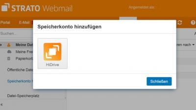 Ohne Umwege: Nutze HiDrive jetzt direkt in Webmail