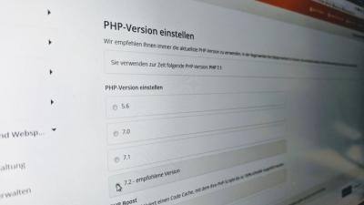 Schneller und sicherer: WordPress auf PHP 7.2 umstellen