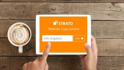 Per Copy & Paste zum Wunschdesign: der neue STRATO Website Copy Service