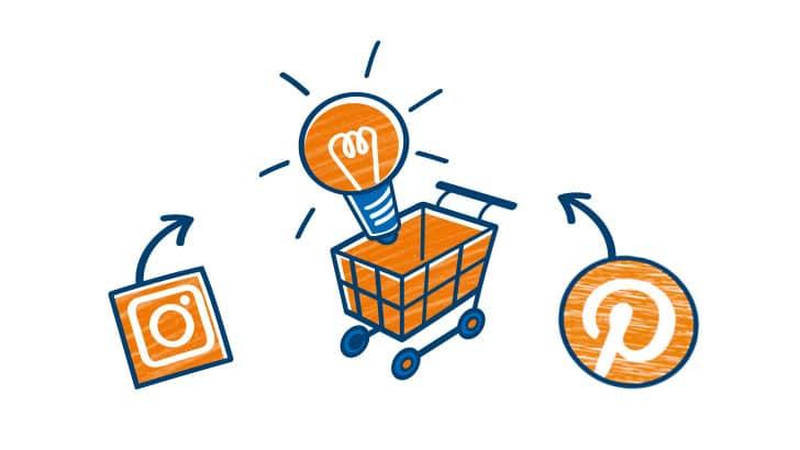 Webshops 2020: Für welche Produkte sich Instagram und Pinterest lohnen