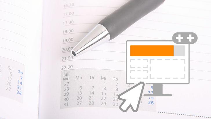 Termine und Reservierungen direkt auf Deiner Homepage anbieten