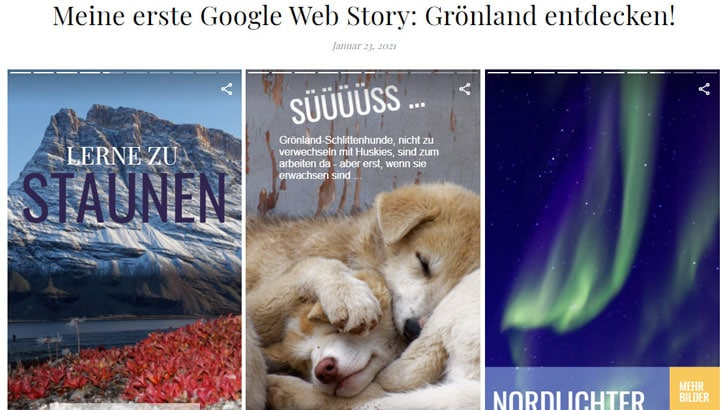 Stories für WordPress mit Google Web Stories erstellen (1)
