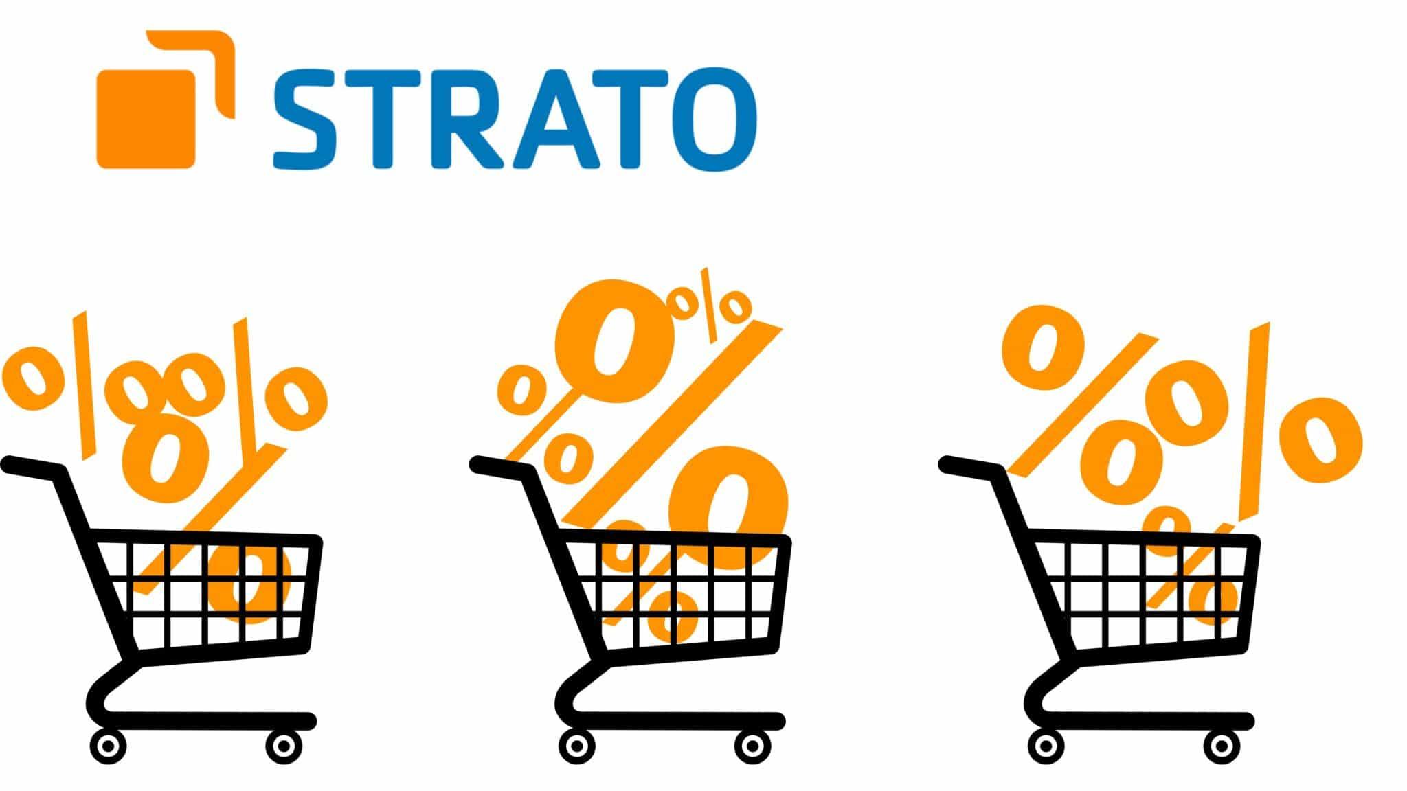 Gutscheine und Rabattaktionen im STRATO Webshop