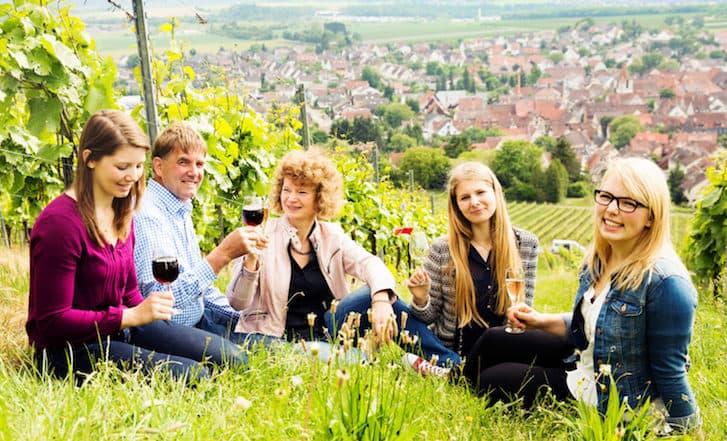 Wein-Verkostung im Online-Shop