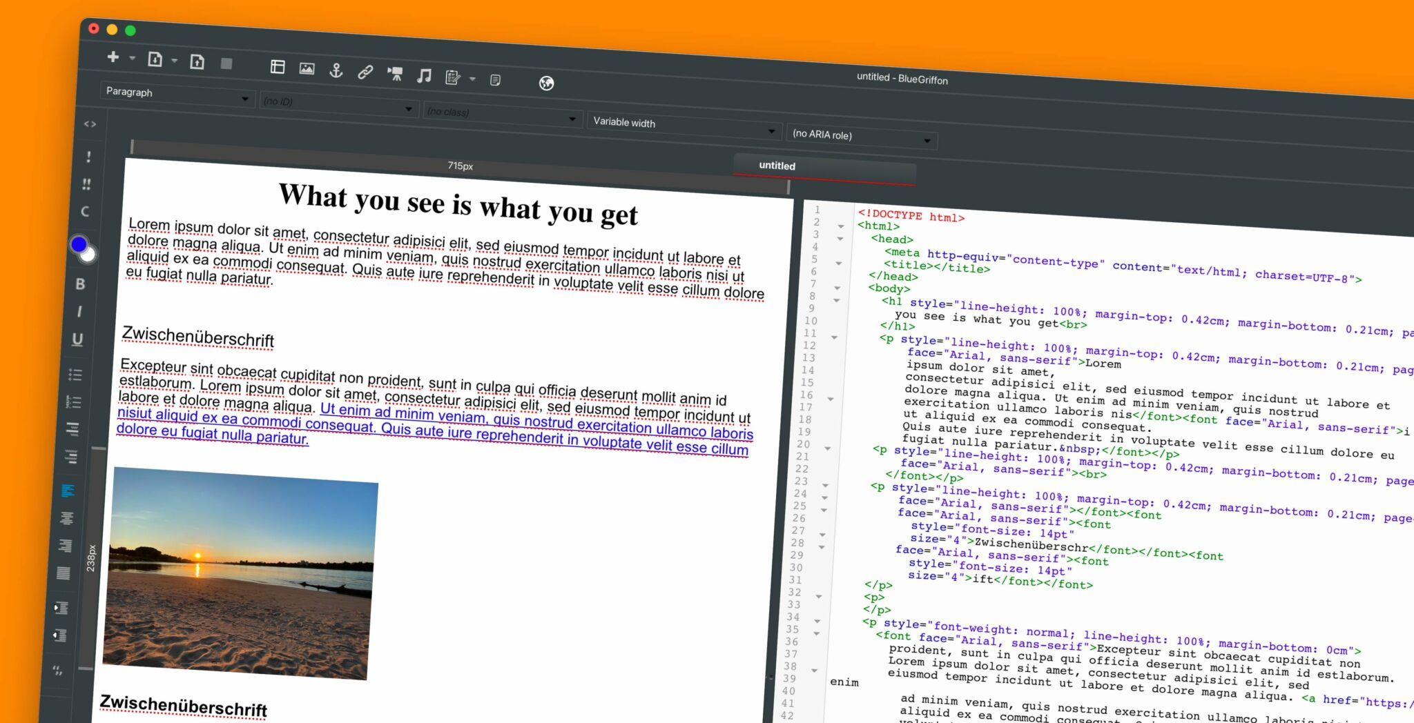 WYSIWYG-Editoren: Webdesign ganz einfach