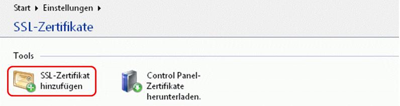 So binden Sie ein SSL-Zertifikat in Plesk 9.5 ein
