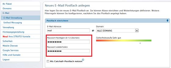 Strato Mail Weiterleitung