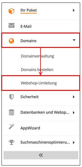 Den Webshop über Ihre Strato Domain Aufrufbar Machen