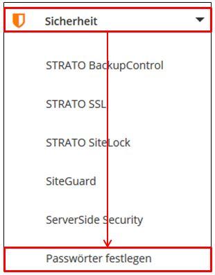 Strato Domain ändern wie kann ich meine passwörter im strato kunden login ändern
