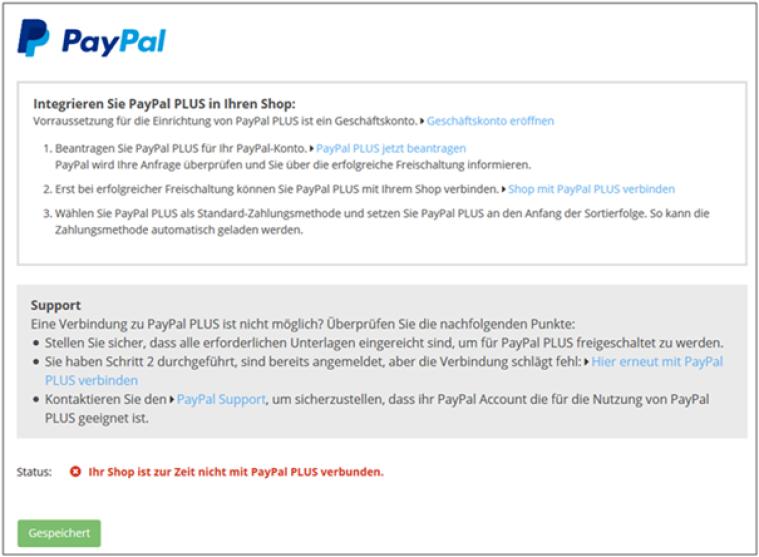 Wie Richte Ich Paypal Paypal Plus Als Zahlungsmethode In Meinem
