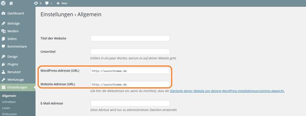 Strato Domain ändern so ändern sie die url ihres blogs
