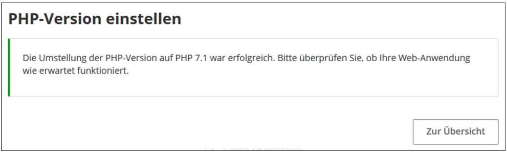 PHP Version 5.x ändern, PHP Boost-4.png