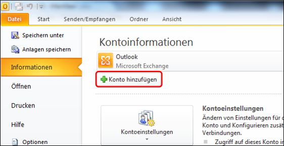 E-Mailadresse einrichten in Microsoft Outlook  STRATO