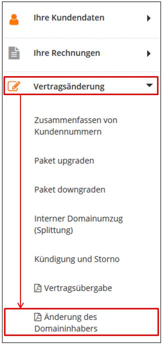 Wie Kann Ich Den Domaininhaber Für Meine Domain ändern