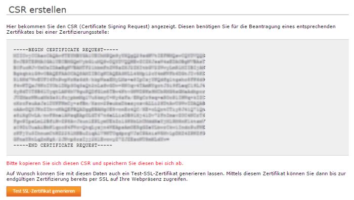 Besonderheiten der Verwaltung von SSL-Zertifikaten bei Managed Servern